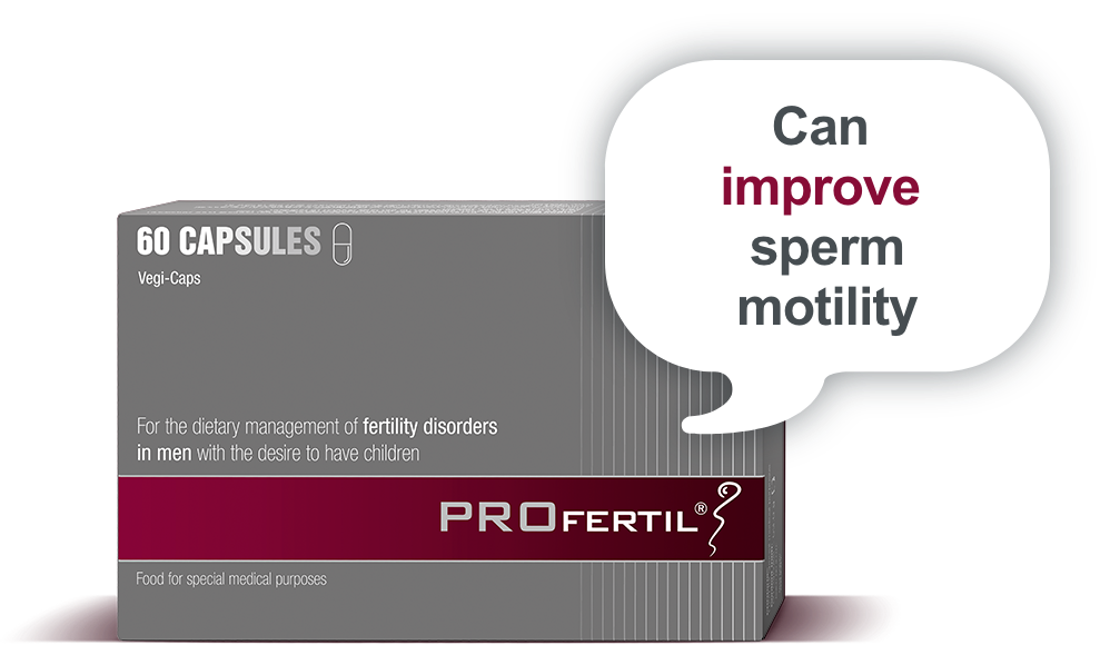 PROFERTIL can improve sperm motility